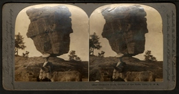 Stereoview Photographs / Stereoview Card / Keystone View Company / U.S.A. / Balanced Rock / Garden Of The Gods - Visionneuses Stéréoscopiques