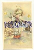 Petit Ange, Panier D'étoiles, Nichée D'oiseaux. Coloprint Spécial 4101 - Anges