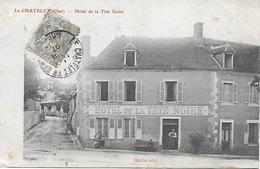 LE CHATELET HOTEL DE LA TETE NOIRE ANIME EDITEUR MAILLET CARTE PAS COURANTE DE 1907 - Autres Communes