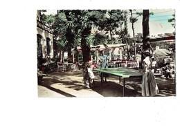 Cpm LA BAULE Hostellerie Pavillon Des Fleurs - Sport > Tennis De Table - Table Ping-pong Raquette Joueuse - Table Tennis