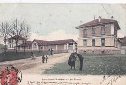 Carte 1907 SAINT OUEN L'AUMONE / LES ECOLES - Saint-Ouen-l'Aumône