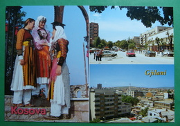 City Of GJILAN (GNJILANE), Multiview, Folklor, Kosovo (Serbia) New Postcards - Kosovo