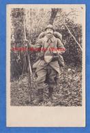 CPA Photo - Beau Portrait D'un Poilu Bien équipé - SUPERBE - Equipement Fusil Baïonnette Arme Gun WW1 Soldat Soldier - Guerra 1914-18