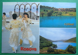 City Of GJILAN (GNJILANE), Multiview, Folklor, Lake, Kosovo (Serbia) New Postcards - Kosovo