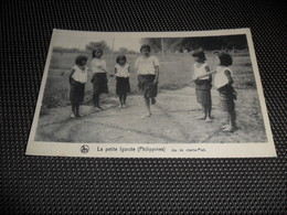 Philippines  Filippijnen  La Petite Igorote  Jeu Du Cloche - Pied - Philippines