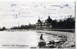 Kǿbenhavn. Parti Fra Langelinie - Danimarca