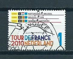 2010 Netherlands Sport,Tour De France,etappe 1-3 Used/gebruikt/oblitere - 1980-... (Beatrix)