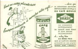 Buvard COSTA BRASIL Café Moulu Café COSTA BRASIL - Café & Thé