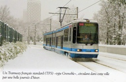 "UN TRAMWAY FRANCAIS STANDARD (TFS) ""Type Grenoble "" - Tramways"