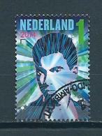 2014 Netherlands Music,DJ Hardwell Used/gebruikt/oblitere - Oblitérés