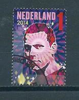 2014 Netherlands Music,DJ Tiësto Used/gebruikt/oblitere - Periode 2013-... (Willem-Alexander)