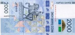 Kyrgyzstan - Pick New - 2000 Som 2017 - Unc - Commemorative - Kirghizistan