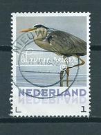 2018 Netherlands Blauwe Reiger,birds,oiseaux,vögel Used/gebruikt/oblitere - Periode 2013-... (Willem-Alexander)
