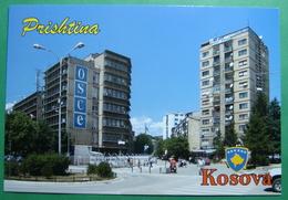 Capital City PRISTINA, View OSCE Headquarter, Kosovo (Serbia) New Postcards, ERROR Mitrovica Instead - Kosovo