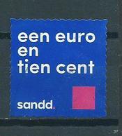 Netherlands Sandd 1.10 EURO Used/gebruikt/oblitere - Gebruikt