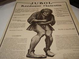 ANCIENNE PUBLICITE MEDICAMENT REEDUQUE VOTRE INTESTIN  1916 - Affiches