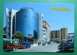 Capital City PRISTINA, View, Grand Casino, Kosovo (Serbia) New Postcards. - Kosovo