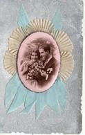 Fantaisie Belle Carte Fantaisie Amoureux Couple D'amoureux Fleurs - Fancy Cards