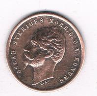 1 ORE  1857  ZWEDEN /6577/ - Suède