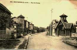 91...essonne....montgeron..... La Rue De Concy - Montgeron