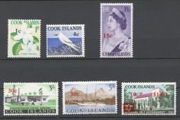 Cook Islands 1967 Mi# 135+ 139+ 144-47** DEFINITIVES - Cook