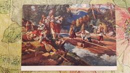 Ukraine In Art -  TRAVAIL Et FLOTTAGE Du BOIS En Ukraine / WOOD EXPLOITATION / TIMBER WORKING And RAFTING - Ucraina