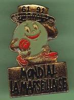 PETANQUE *** MONDIAL LA MARSEILLAISE *** 0078 - Bowls - Pétanque