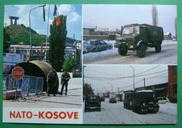 City Of MITROVICA NATO IN KOSOVO, Kosovo (Serbia) New Postcards. - Kosovo