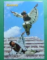 Traditional Dance In KOSOVO, Folklor, Kosovo (Serbia) New Postcards. - Kosovo