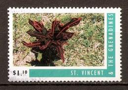 1996 - Croton - Codiaeum Variegatum Gloriosa - Michel N°3371K - St.Vincent & Grenadines