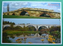 Roman Bridges Near JAKOVA And VUCITRN, Kosovo (Serbia) New Postcards. - Kosovo