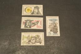 K16438 - Set MNh Ceskoslovensko - Czechoslovakia 1964 Unesco MI. 1459-1462 - Czechoslovakia