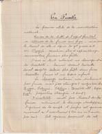 Etat Français, Chantiers De Jeunesse : Cours Pour Petits Gradés (14 Scans) - Documents Historiques