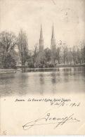 ANVERS  Le Parc Et L'Eglise Saint Joseph  1903 - Belgique