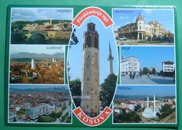 KOSOVO 7 Different Cities, Kosovo (Serbia) New Postcards. - Kosovo