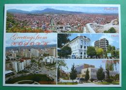KOSOVO 4 Different Cities, Kosovo (Serbia) New Postcards. - Kosovo