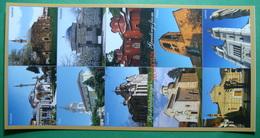 KOSOVO 10 Different Cities, LONG POSTCARD, Kosovo (Serbia) New Postcards. - Kosovo