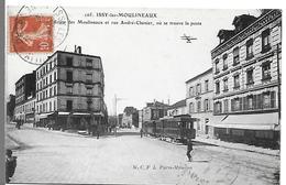 ISSY LES MOULINEAUX - Route Des Moulineaux Et Rue André Chenier, Ou Se Trouve La Poste - Issy Les Moulineaux