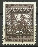 Austria 1981, Centenario Della Nascita Di W. Dachauer (o) - 1945-.... 2a Repubblica