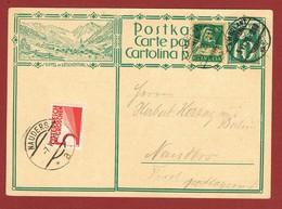 Karte  Postlagernd Poste Restante Taxe Gebühr 5 Gr.; - Storia Postale