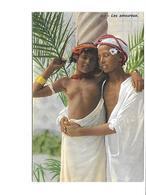 Théme-Erotisme-Nue-Jeune Fille Arabe Seins Nus Et Son Fiançé - Afrique Du Nord (Maghreb)