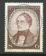Austria 1981, J. F. Heller, Pioniere Della Chimica (o) - 1945-.... 2a Repubblica