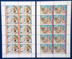 Vaticano 2015 Sass. 1691/92 Minifogli Da 10 **/MNH VF - Blocchi E Foglietti