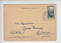 ITALIA  1953 - Cartolina Privata Di Auguri Con Pagina Bibbia - 6. 1946-.. Repubblica