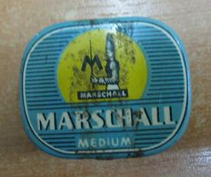 AC - MARSCHALL MEDIUM PHONOGRAPH GRAMOPHONE NEEDLE VINTAGE TIN BOX - Accessoires, Pochettes & Cartons