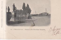 Henin Lietard Statue De M. Elie Cesar Gruyelle - Henin-Beaumont