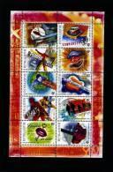 AUSTRALIA - 2001  AUSTRALIAN ROCK AND POP MUSIC  SHEETLET  MINT NH - Blocchi & Foglietti