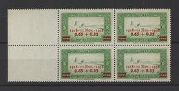 ALGERIE . YT  147  Neuf **  20e Anniversaire Del'Armistice De 1918  1938 - Algerije (1924-1962)