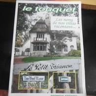 Le Touquet Paris-plage ( Les Noms De Nos Villas Racontent ) - Le Touquet