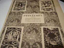 ANCIENNE PUBLICITE MAGASIN AU PRINTEMPS 1920 - Publicidad